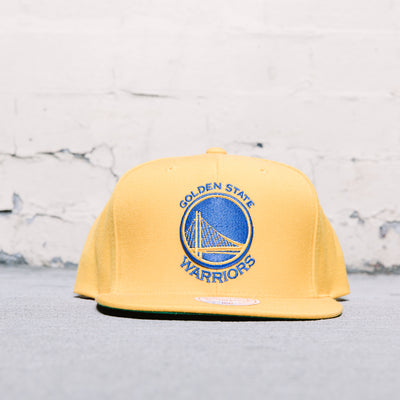Mitchell & Ness Solid Snapback (Warriors)