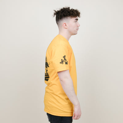 Flowers Break Tee (Gold)
