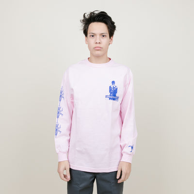 Flowers Reign L/S Tee (Pink)