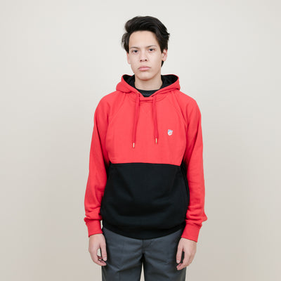 Cookies SF Carrera French Terry Pieced Hoodie (Red)
