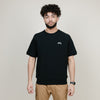 Stussy Stock Raglan S/S Crew Neck (Black)