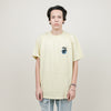Stussy Surfman Dot Dyed Tee (Yellow)