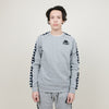 Kappa Authentic Hassan (Grey Md Mel-Black)