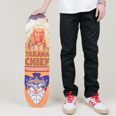 NewYakCity Yakama Chief Skateboard (Assorted Sizes)