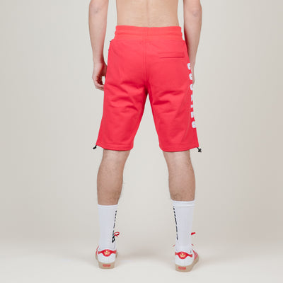 Cookies SF French Open Applique Logo French Terry Shorts (Red)