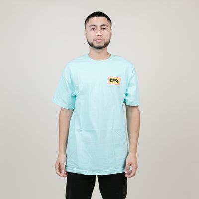Girl Sad Boy Tee (Baby Blue)