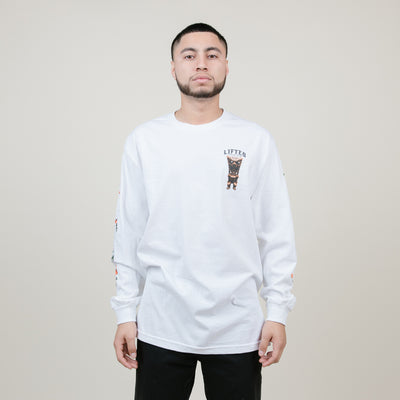 LRG Party God L/S Tee (White)