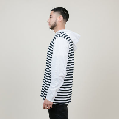 LRG Line Up Henley Hoodie (White)