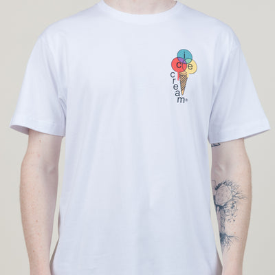 Icecream Salman S/S Tee (White)