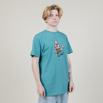 Icecream Glifberg S/S Tee (Teal)