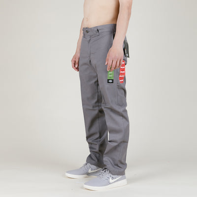 Dickies Slim Straight Work Pant (Gravel Grey)