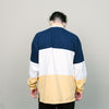 Vintage French Spirit Polo Inspired L/S (Navy/White/Yellow)
