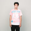 Vintage Side Out Tee (Coral/White)