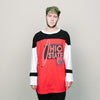 Vintage Ohio State L/S (Black/Red)