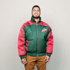 Vintage 1996 Sonics Pro Player Jacket (Green/Burgundy)