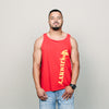 Vintage 80's Jimmy Z Tank (Red)