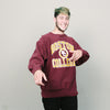 Vintage 80's Boston College Champion Crew (Burgundy)