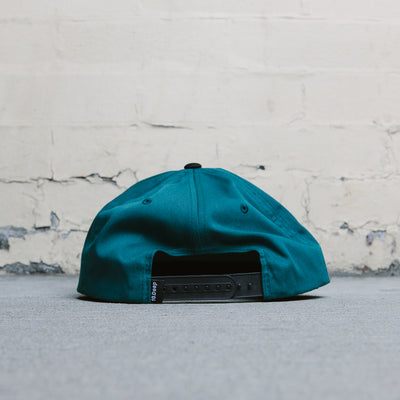 10 Deep Warrior Cap (Teal)
