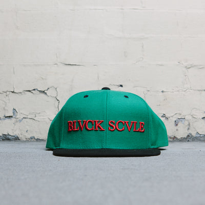 Blackscale BS Logotype (Green)