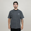 Polar Stripe Pocket Tee (Black)