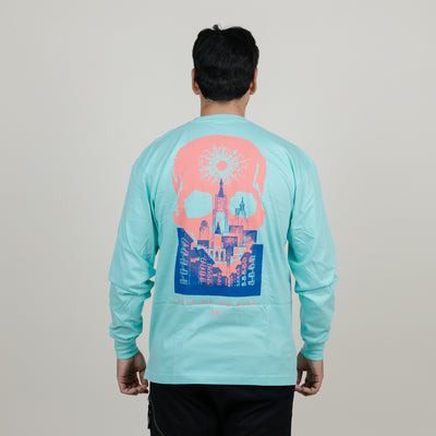 Never Made City No Pitty L/S Tee (Mint)