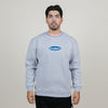 Butter Goods Jacquard Collar Crewneck (Heather Grey)