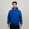 Polar Contrast Default Hoodie (Dark Blue/White)