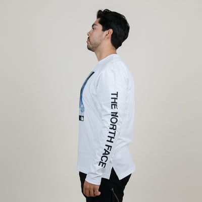 The North Face 92' Retro Rage L/S Tee (White)