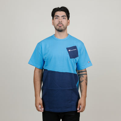 Champion Heritage Shift Tee (Active Blue/Imper)