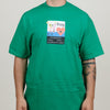 Frog Strapped in Tee (Green)