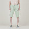 Kappa 222 Banda Marvz Shorts (Light Green/Sliver/Black)