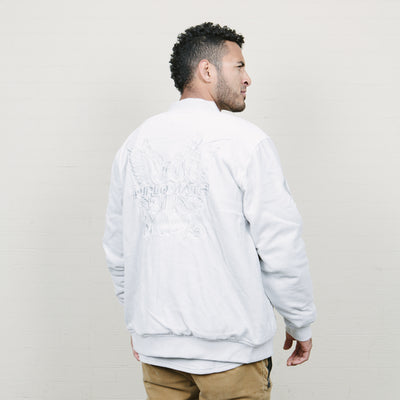 Cookies SF Dipet Embossed Logo Velour Jacket (Grey)