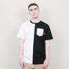 Paterson Two Tone Pocket Tee (Black)