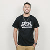 Raised By Wolves Nature Tee (Black)