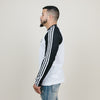 Adidas 3 Stripes L/S Tee (Black)