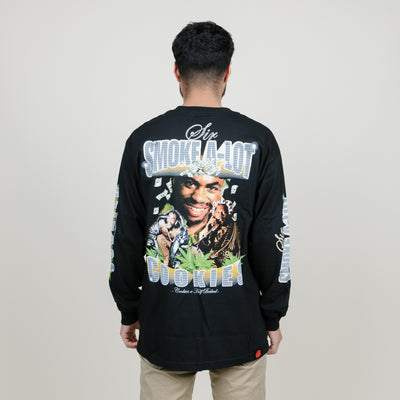 Cookies SF x Half Baked Sir Smoke A-Lot L/S Tee (Black)