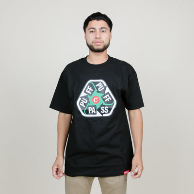 Cookies SF Puff-Puff-Pass Tee (Black)