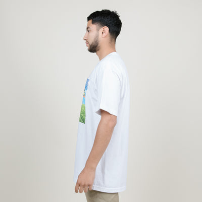 Cookies SF x Half Baked Keep Off The Grass Tee (White)