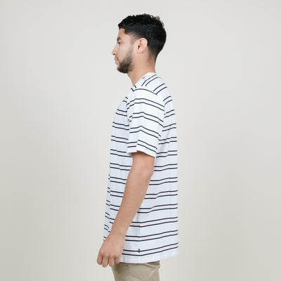 Nike SB Summer Stripe Tee (White/Black/Pink)