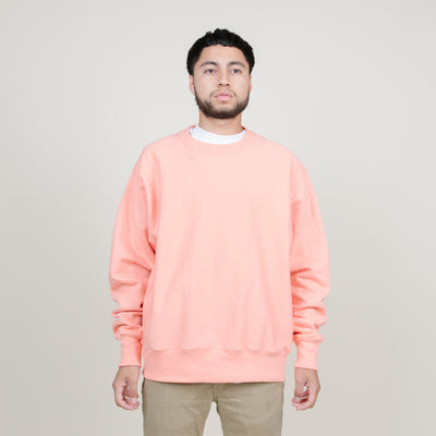 Champion Fleece Pullover Crewneck (Stone Pink)