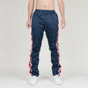 Serenede Una Vida Snap Button Track Pants (Navy/Red)