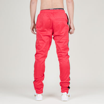 Serenede Beijing 9AM Track Pants (Red/Black)