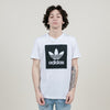 Adidas Solid BB Tee (White/Black)