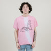 stacy house love like bunnies tee (pink)