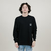 Polar Pocket L/S Tee (Black)