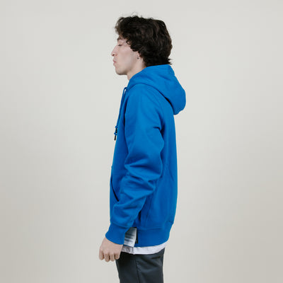 Champion Super Fleece 2.0 Hoodie (Deep Hotline Blue)