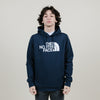 The North Face Half Dome Slim Hoodie (Navy/White)