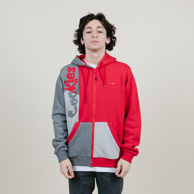 Cookies SF Corleone Fleece Full Zip Hoodie (Red)