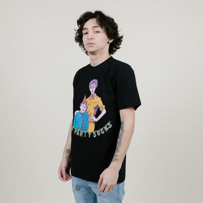 Chinatown Party Tee (Black)