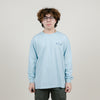 Polar Rocket Man L/S Tee (Light Blue)